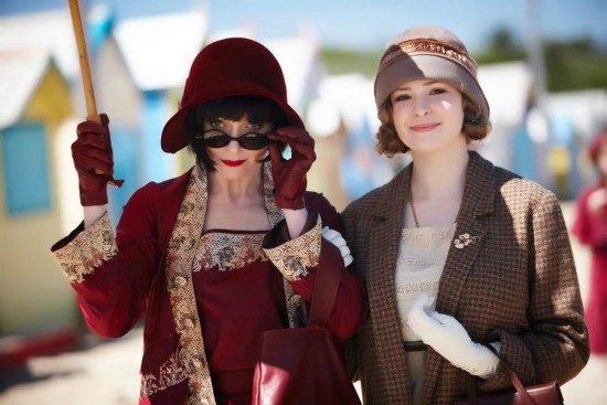 825a8885895c95 Miss Fisher is on the left, and Dot, her companion and a devout Catholic
