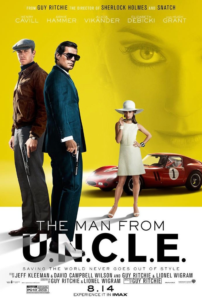 Movie Review: The Man From U.N.C.L.E. - Smart Bitches, Trashy Books