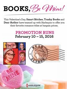 Dear Author, Smart Bitches Books Be Mine Valentine's Day Sale