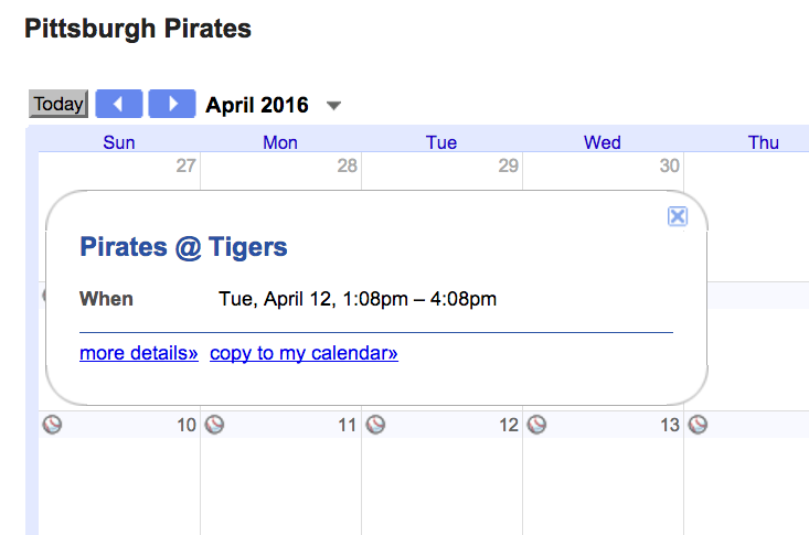 Organizing with Google Calendars: Part IV - Importing