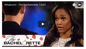 The Bachelorette looking at Whaboom Dude with a blantant Are You Kidding Me expression on her face?