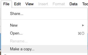 File - make a Copy