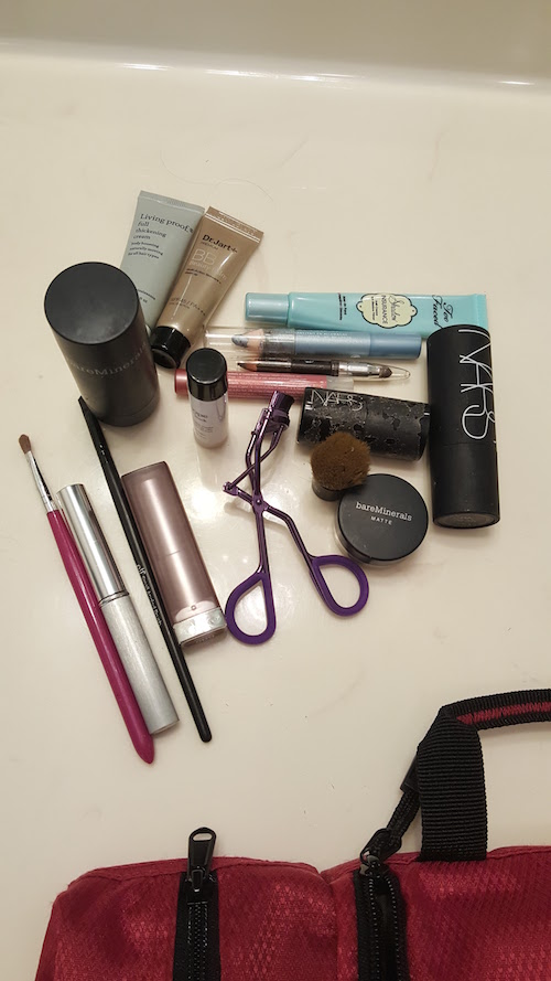 The rest of the makeup I carry