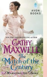 MATCH OF THE CENTURY by Cathy Maxwell