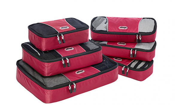 eBags six piece packing cube set $50 - $75 (depending on sale)