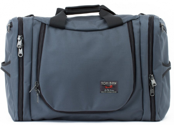 Tom Bihn Aeronaut soft sided bag in grey