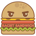 The Racist Sandwich podcast logo