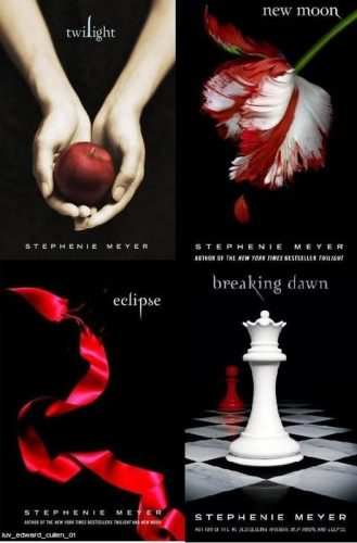 Collage of Twilight covers