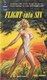 A woman is wearing a gauzy dress only held on by her nipples. She's in a forest by the skin is clearly on fire.