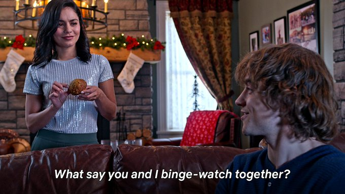 What say you and I binge watch together? says Cole.