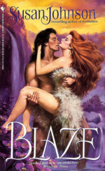 A clinch cover but both parties are scantily clad in questionable furs.