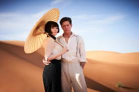 Phryne and Jack in the desert