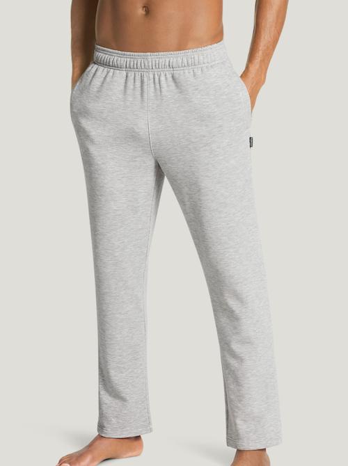 Jockey straight leg sweatpants for men in light grey