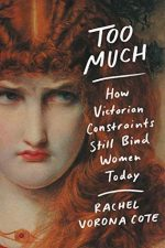 Too Much by Rachel Vorona Cote. A painting of an angry looking redheaded woman