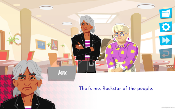 Screenshot from Later Daters of Jax and Crystal