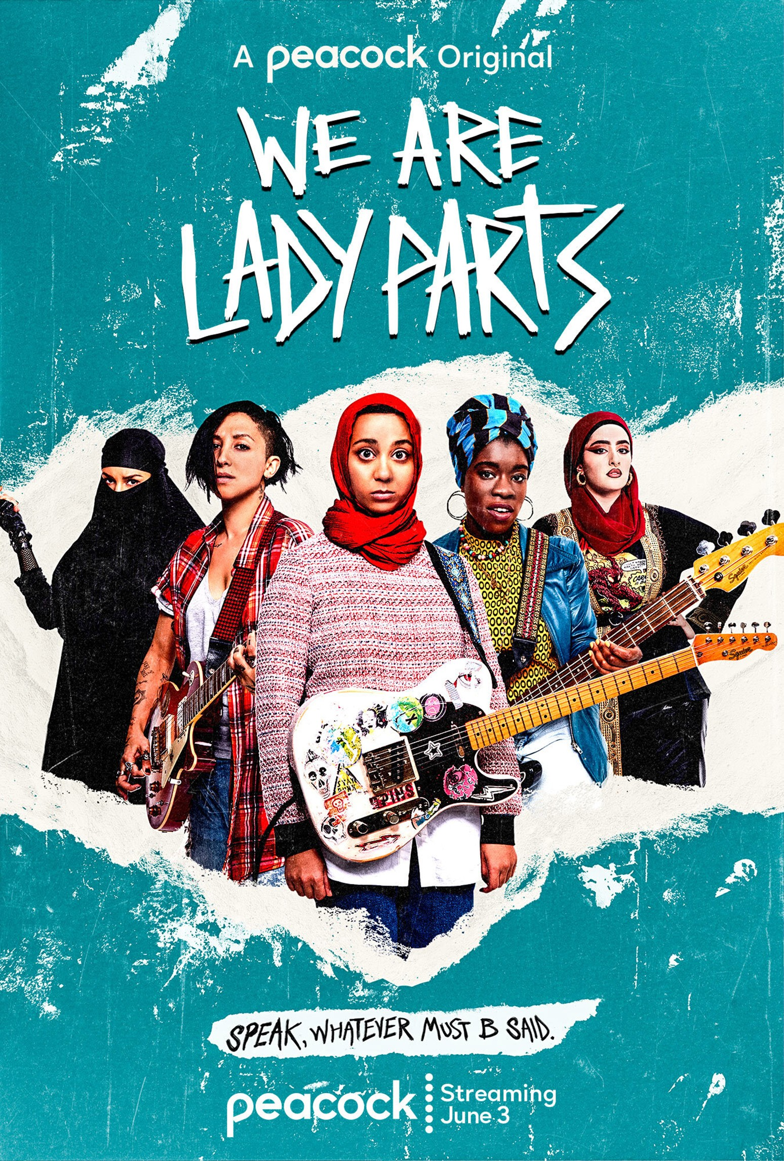 We Are Lady Parts, created by Nida Manzoor