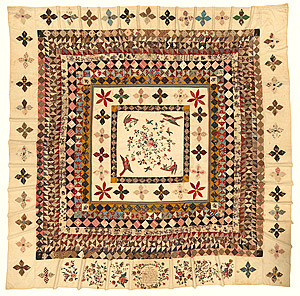 Photo of the Rajah Quilt