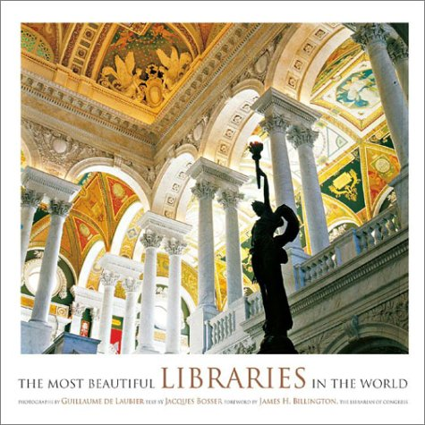 Book Cover; The Most Beautiful Libraries in the World