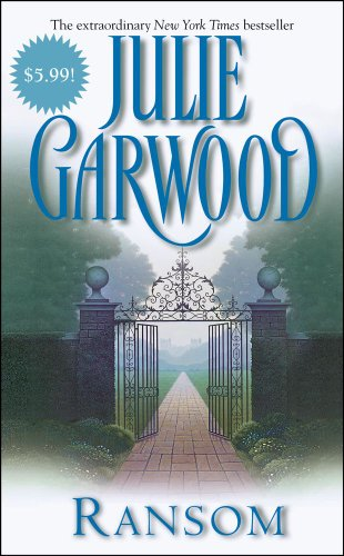 Garden gates opening to a path are on the cover of Ransom.