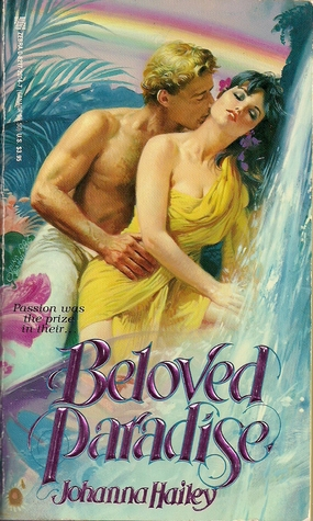 Beloved Paradise - same two people, this time in a waterfall with heroine in a one shouldered dress