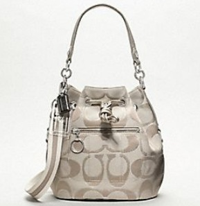 Coach metallic cinch from their Poppy line