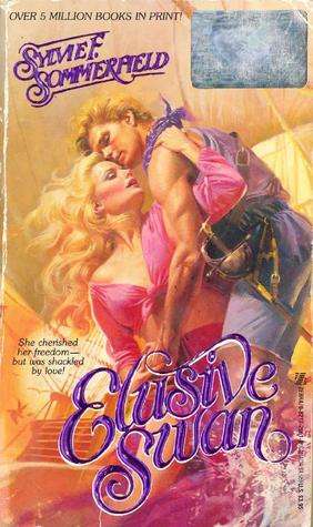 Elusive swan by Sylvie Sommerfield - there is so much pink and purple clothing going on in this cover I don't know what to tell you.