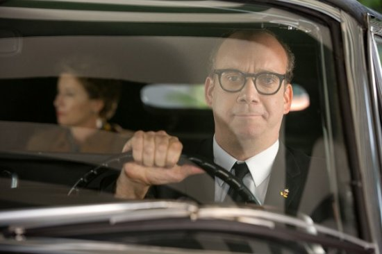 Paul Giamatti - driver in Saving Mr Banks