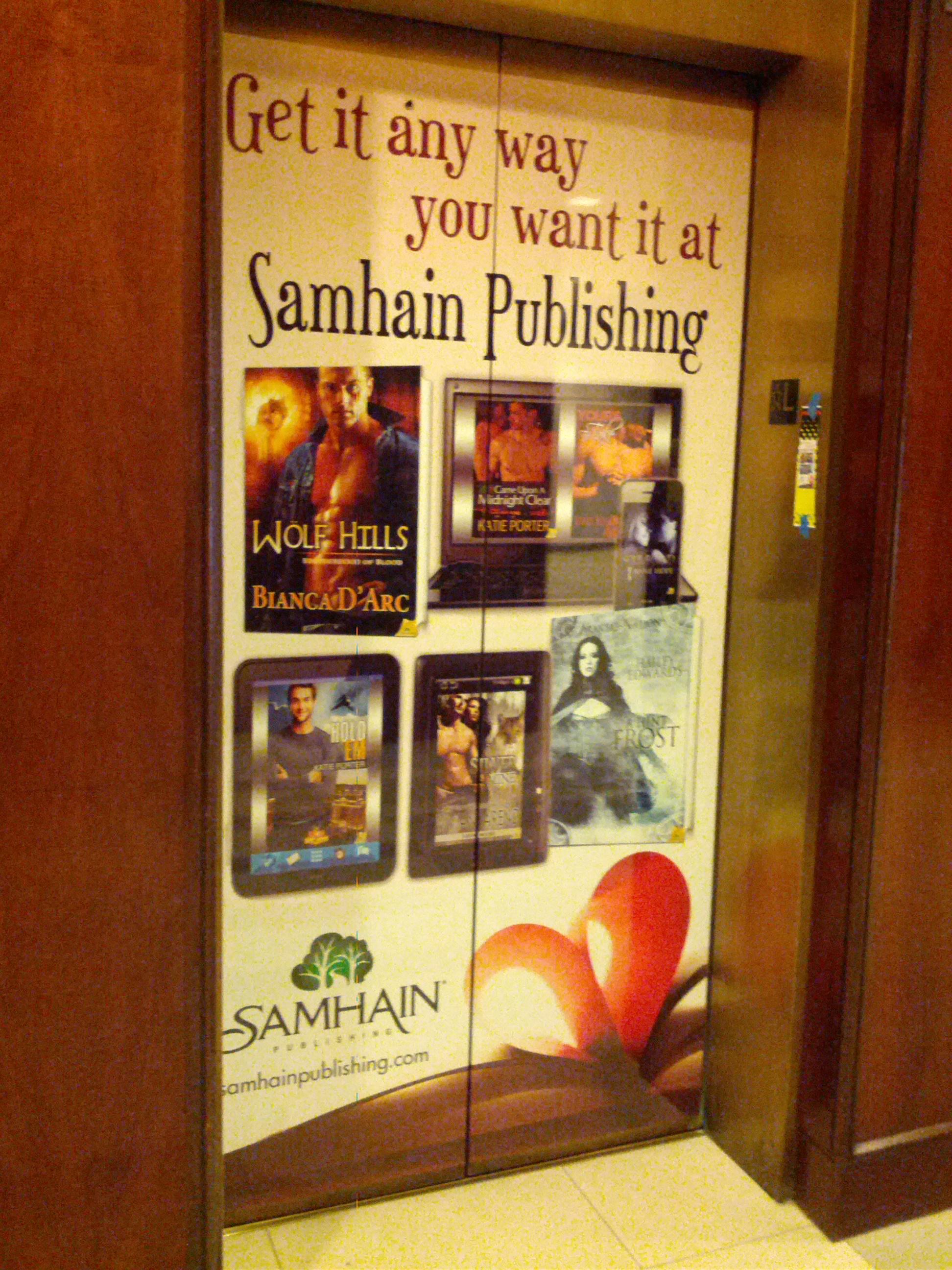 Samhain Publishing Elevator Image