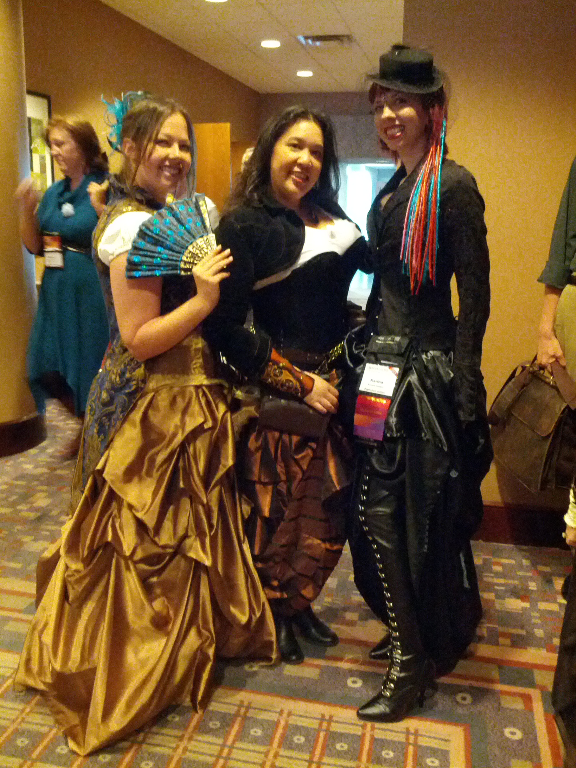 Steampunk costumes of excellence