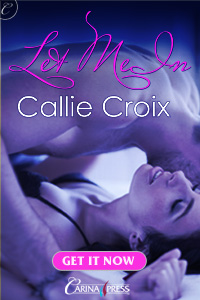 Callie Croix's Let Me In - from Carina Press