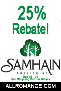 Samhain 25% Rebate at AllRomanceeBooks.com
