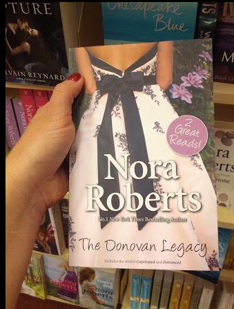 The Donovan Legacy - 2 of Roberts' Donovan books - in hardback-lite size.