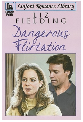 Dangerous Flirtation large print edition oddly the people have their mouths open like they're mid-word. Weird.