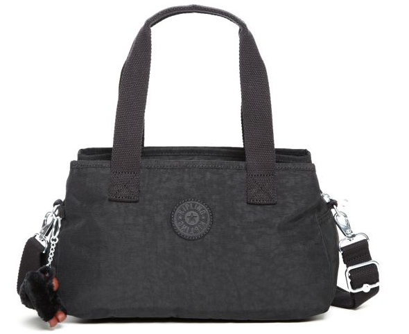 Kipling canvas bag with shoulder handle