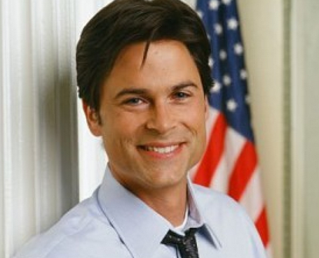 Rob Lowe from the West Wing