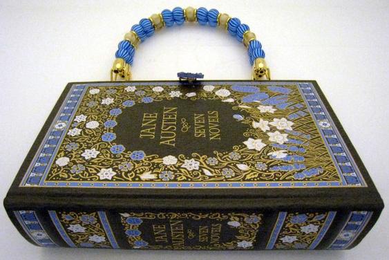 Purse made from Jane Austen Novels