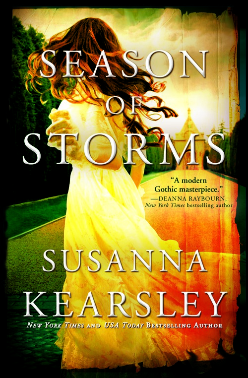Season of Storms final Cover - woman in yellow dress spinning away from viewer