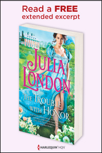 Julia London - The Trouble with Honor