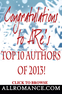 Top 10 Authors at AllRomance