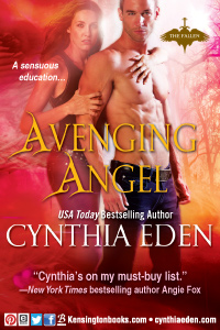 Cynthia Eden Avenging Angel - Kensington Press