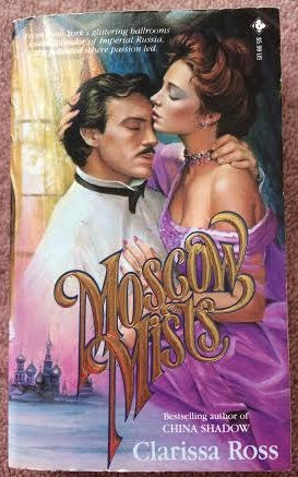 Clarissa Ross' Moscow Mists - there is epic pornstache on the hero
