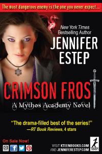 Jennifer Estep - Crimson Frost