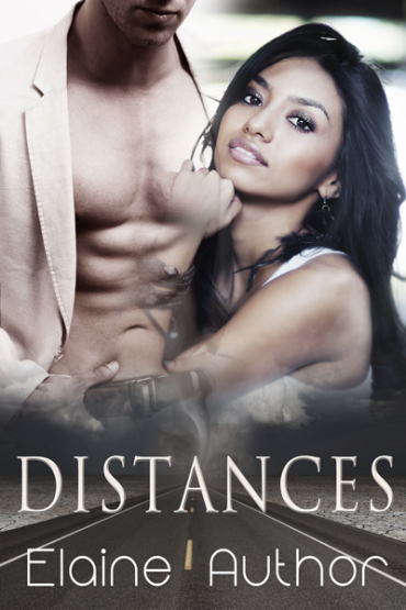 Distance premade cover - a woman who possibly might be Indian posing against a male torso - and her arm is partially dissolved into the torso
