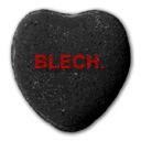 Heart says BLECH
