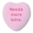 heart: Needs more loins.