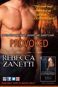 Provoked by Rebecca Zanetti - paranormal romance