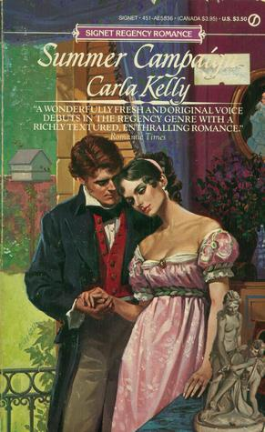 summer Campaign original cover - seriously lurid colors and very sad looking heroine